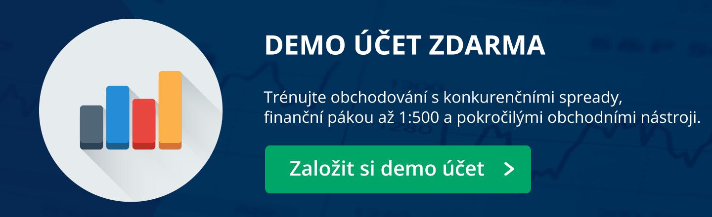 Založte si Demo účet