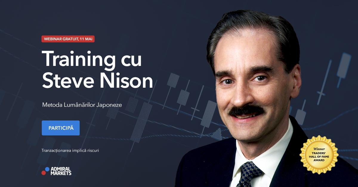 Webinar cu Steve Nison