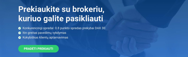 Forex pradedantiesiems - brokeriai