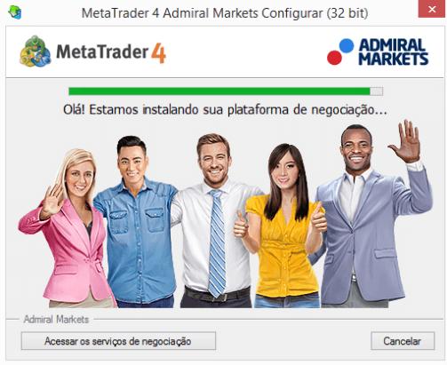 MetaTrader 4 Portugues