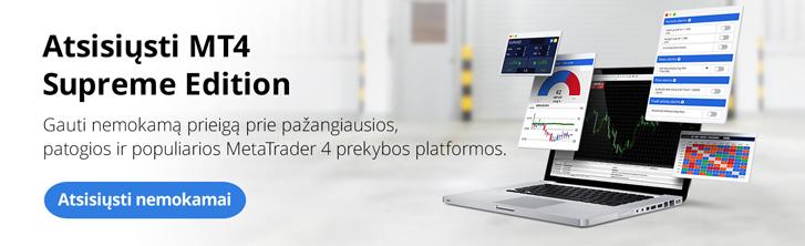 MetaTrader Supreme Edition - Pagerinkite savo prekybos galimybes