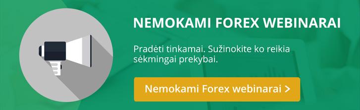Forex ir CFD webianarai