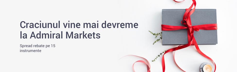 Crăciunul vine mai devreme la Admiral Markets