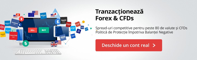 Deschide un cont real de tranzacționare