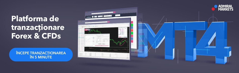Descarcă platforma de tranzacționare MetaTrader 4
