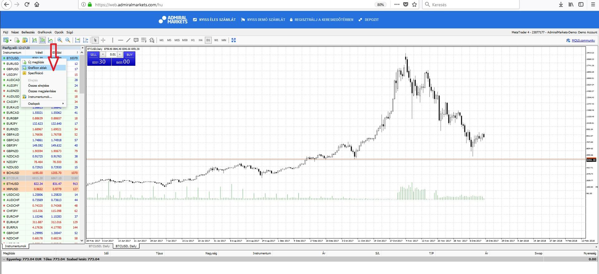 bitcoin kereskedői platform)