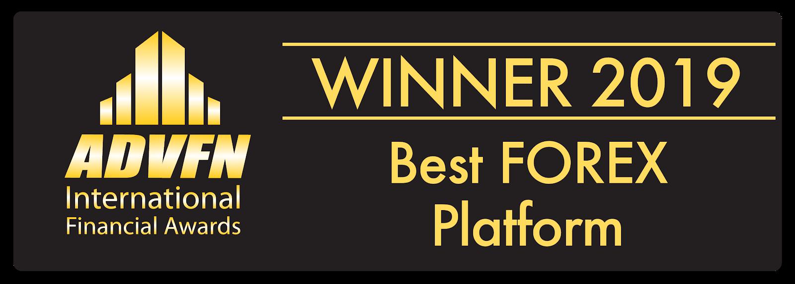 ADVFN International Financial Awards élu Admiral Markets Meilleure Plateforme Trading Forex 2019