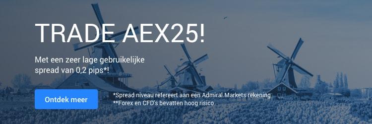 Handelen in AEX