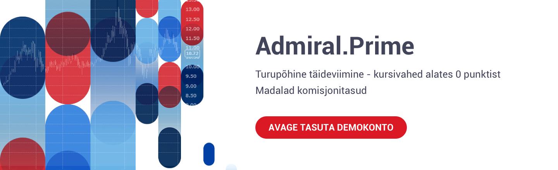 admiral prime konto
