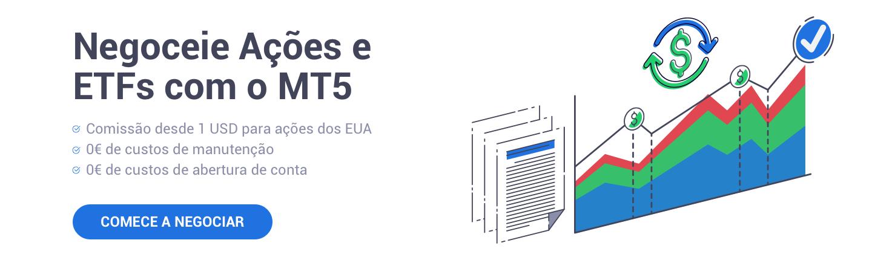 Negociar Ações e ETF MT5