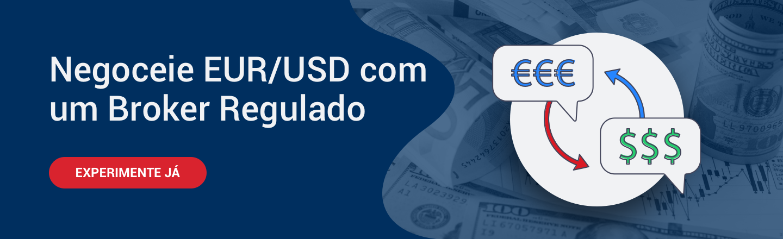 EUR USD trading com Broker regulado