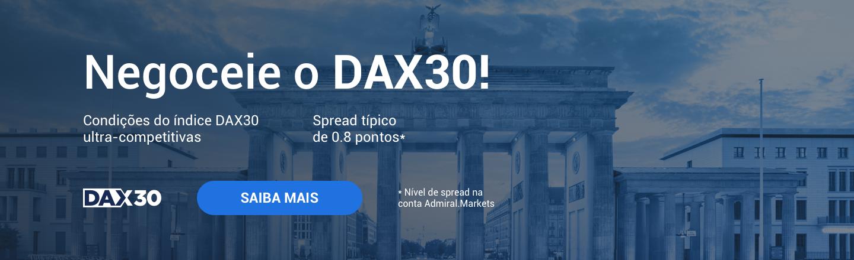 Negociar DAX 30 índice