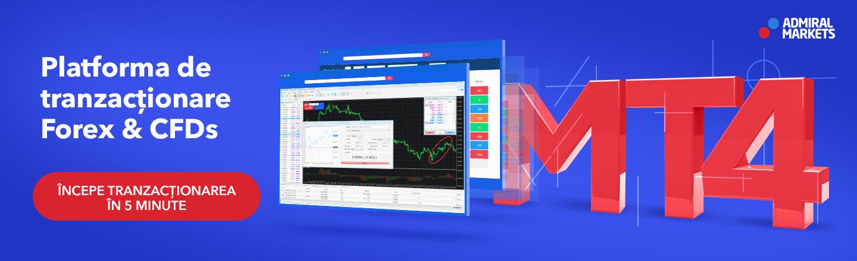Meta Trader 4 - platforma de tranzactionare profesionala