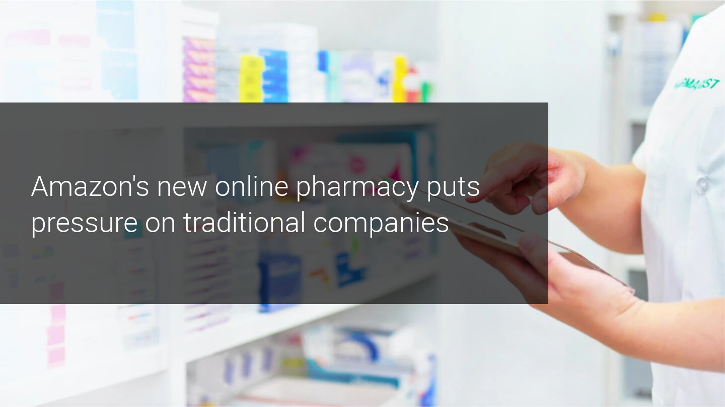 "AMZN jumps into the pharmacy business, CVS gets ""Amazon'd"""