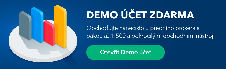Demo FOREX obchodní účet