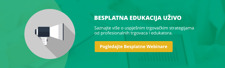 Besplatna Edukacija Uživo