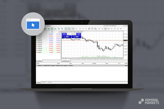 Admiral Markets MT4 Webtrader