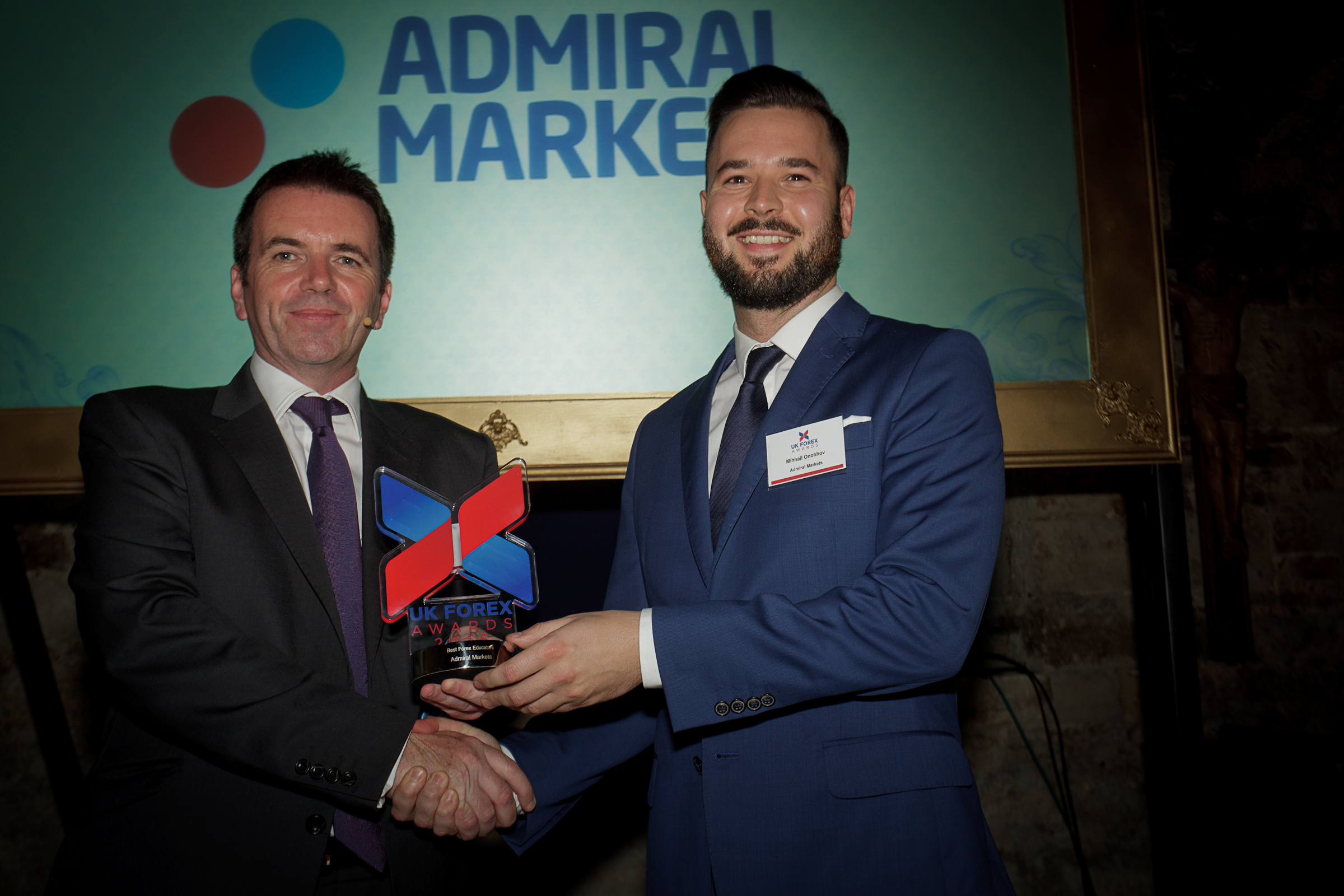 Admiral Markets признаны лучшим брокером в сфере образования 2016 года