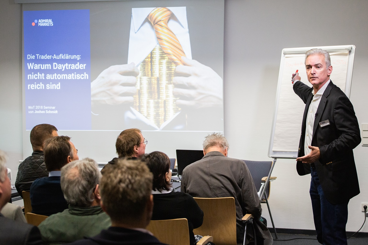 Daytrader = Reich? Jochen Schmidt Seminar auf der WoT 2018
