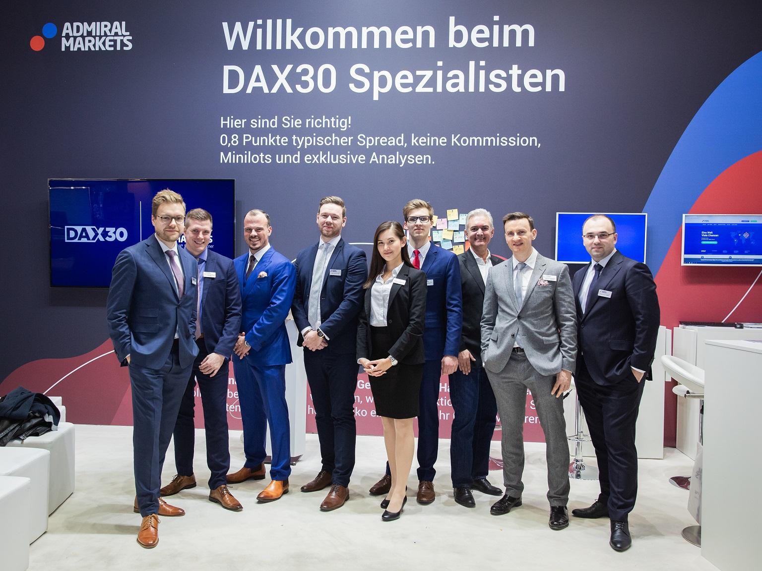 Das Team von Admiral Markets auf der WoT 2018