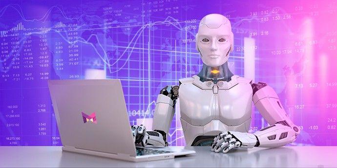 Ilustrasi Robot Trading Forex
