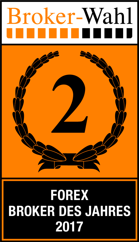 Jahr für Jahr Auszeichnungen: Brokerwahl 2017, Kategorie Forex