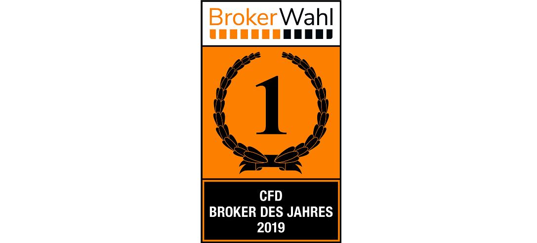 CFD Broker des Jahres 2019