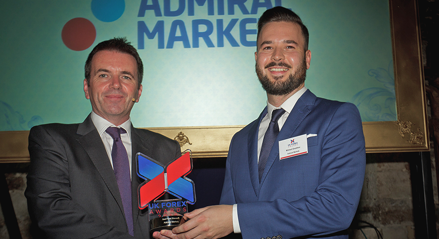 Award in UK: Bester Forex Ausbilder 2016 ist Admiral Markets