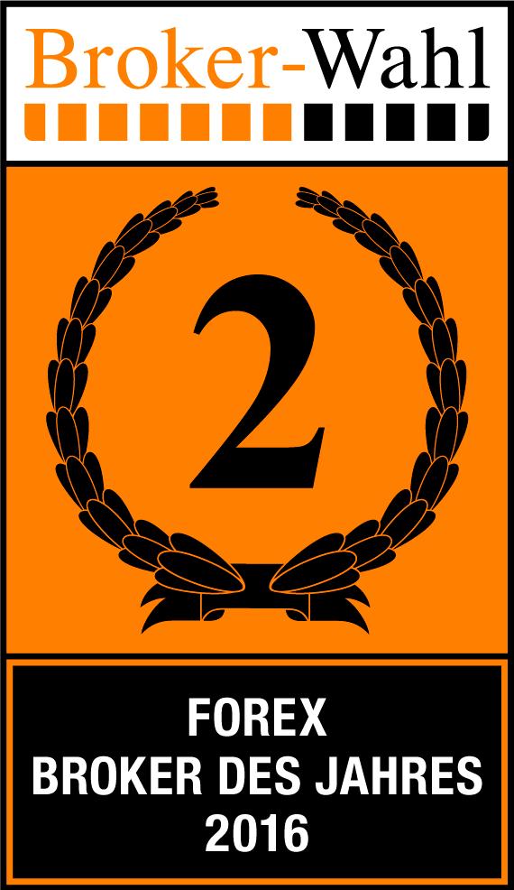 Brokerwahl 2016: 2. Platz in der Kategorie Forex für Admiral Markets