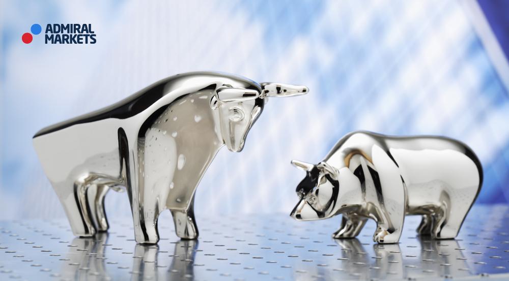 Bulle & Bär, steigende und fallende Märkte