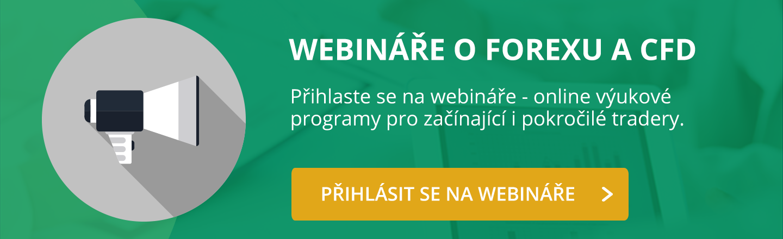 Webináře o Forexu a CFD