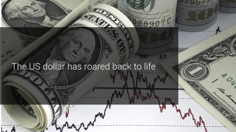 Commodity currencies crash on USD dominance