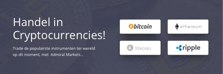 Handelen in cryptocurrencies