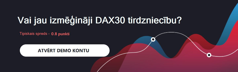 DAX30 demo tirdzniecība