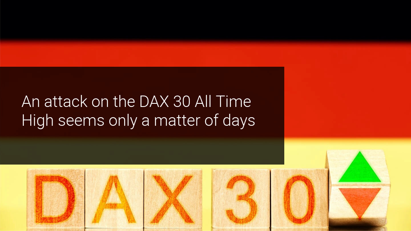 DAX30 in bullish consolidation before an attack on All Time High?