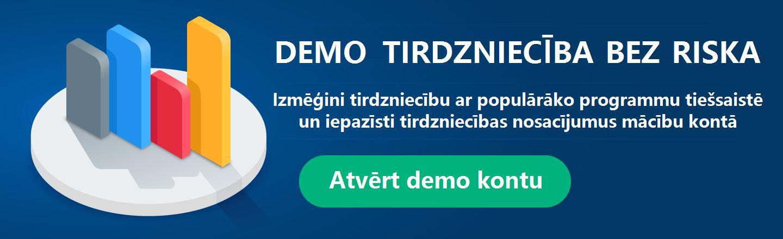 Forex un CFD demo tirdzniecība bez riska