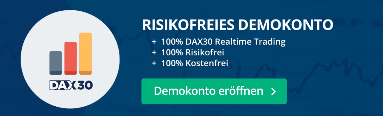 Risikofreies MetaTrader Demokonto, ohne Kosten und Gebühren