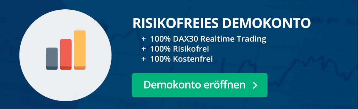 Risikofreies Demokonto für CFD und Forex Trading: ohne Kosten und Gebühren