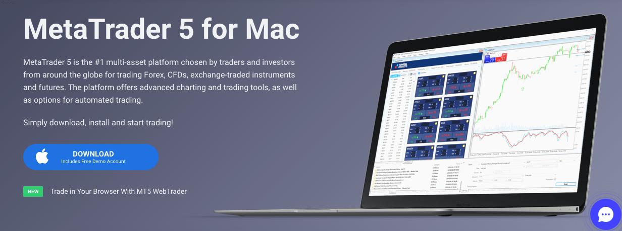 MetaTrader 5 za Mac
