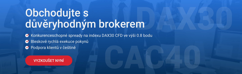 Důvěryhodný broker forex a CFD