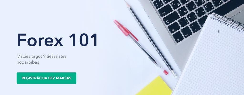 Forex 101 - Forex un CFD tirdzniecības mācību kurss