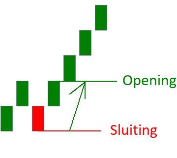 Hoe werkt een Renko chart reversal bullish
