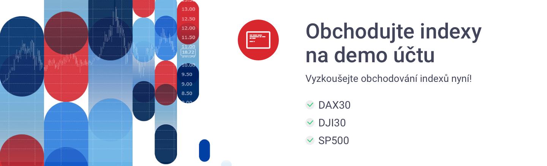 demo účet indexy