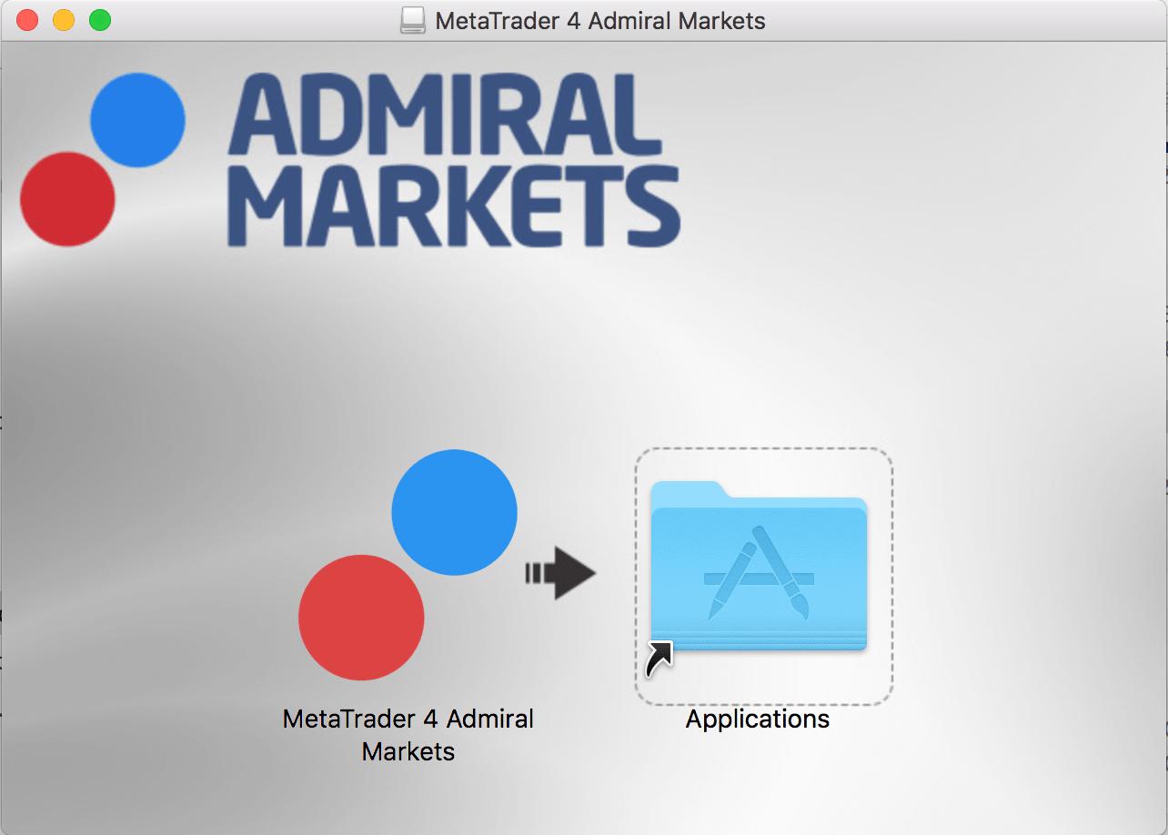 Installer Application MetaTrader 4 Mac Admiral Markets