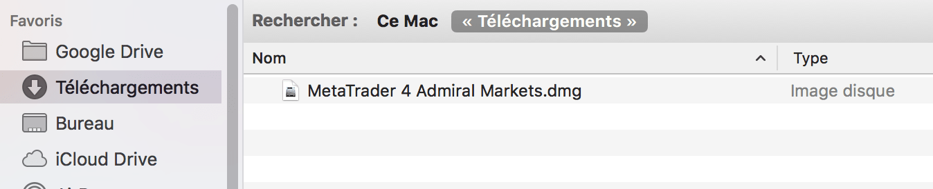 Comment Télécharger MT4 Macbook pro