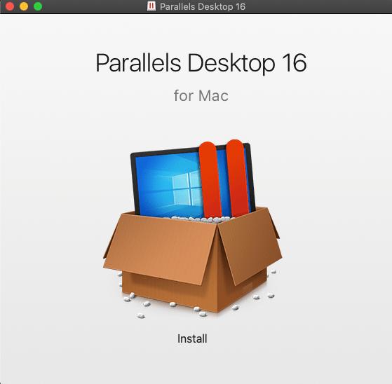 Namestitev Parallels za Mac