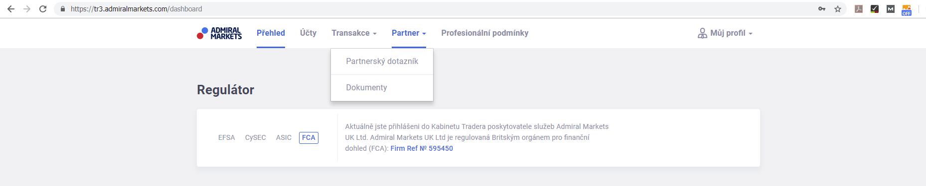 Partnerský Program - dotazník