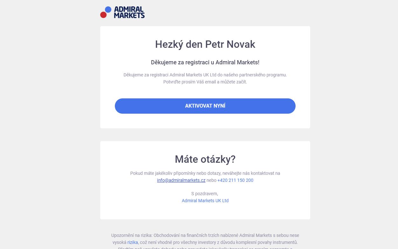 Aktivace Forex Affiliate ČR