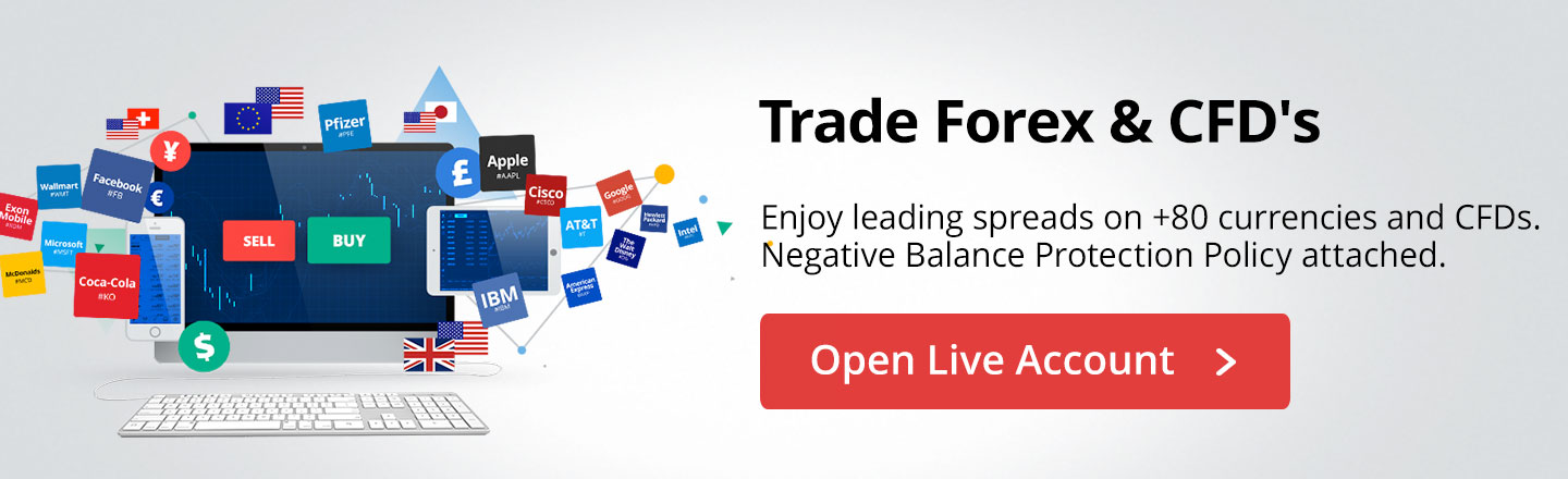 Open Live Forex and CFDs account
