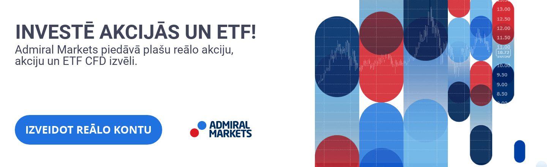 Akcijas un ETF